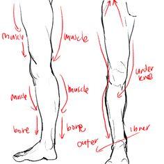 Figure Drawing Legs amp Feet On Pinterest 293 Pins