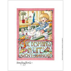 """Best Things In Life"" Fine Print mari engelbreit, fine print, idea, engelbreit art, mary engelbreit, inspir, mari englebreit, illustr mari, favorit artwork"