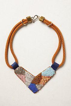 tonala bib, bead tonala, beaded necklaces, beaded collar, 1jewelri idea