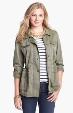 Fall must-have: an on-trend army jacket.