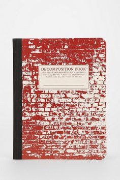 Decomposition Notebook #urbanoutfitters #notebook