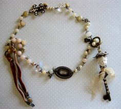 Altered Key necklace from Robin by terri gordon, via Flickr