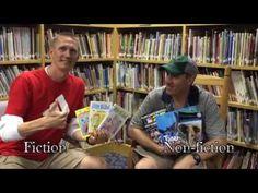 Fiction vs Non-fiction Video Lesson - Almost a Second Grader www.almostasecondgrader.com