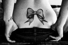 bow tattoo | Tumblr