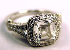 Antique Tiffany's ring -- a stunner.