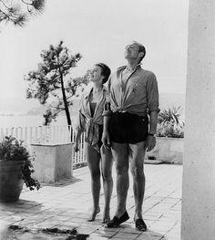 Bonjour Tristesse (1958) - Jean Seberg and David Niven