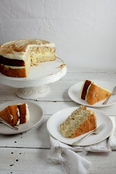 Milk Tart Layer Cake