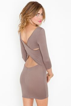 Love the backless look