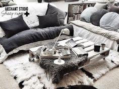 Méchant Design: Valérie's living room