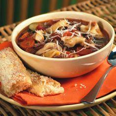 Italian Sausage Soup with Tortellini Allrecipes.com
