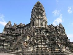 Angkor Wat in Siem Reap Province, Cambodia.