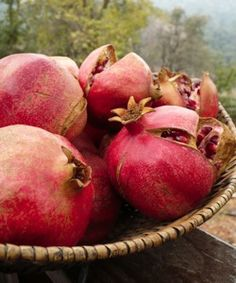 POWERFUL HEALTH BENEFITS OF POMEGRANATES | Pomegranates may fight cancer with their antioxidant properties. They may aid heart disease and depression with their anti-inflammatory properties ...