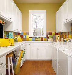 Laundry and Craft Rooms