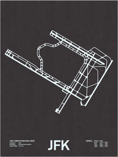 Airport Runway Prints from Nomo