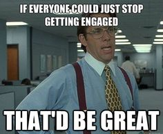 If everyone could just stop…