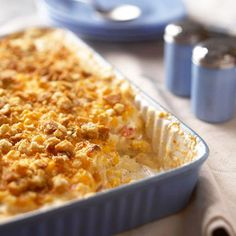 "chicken and corn hashbrown bake (use ""cream of"" recipe also pinned instead of canned soup)"