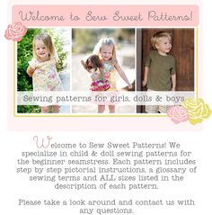 sewing patterns for kids clothes