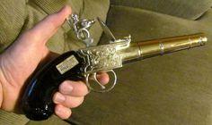 Vintage Avon Handgun Decanter