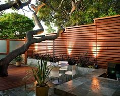 Garden Fence-decorative stones tile design