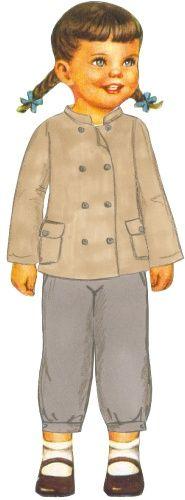 Citronille - Margotte=printable paper  dolls
