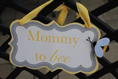"""Mommy to """"bee"""" - Bumble Bee Themed baby shower"""