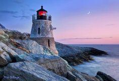 Castle Hill Light in Newport, Rhode Island --Photo Credit: Mike DiRenzo