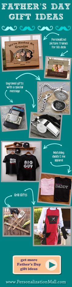 This site has awesome Father's Day gift ideas!