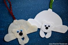 polar bear crafts - Google Search