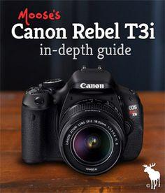Canon Rebel T3i Tips for Beginners
