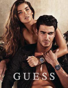 Gui Fedrizzi for Guess Accessories Fall 2014