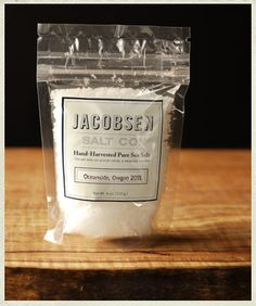 Hand-Harvested Flaky Sea Salt from the Oregon Coast.