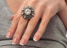 circles, cleanses, style, french manicures, diamonds