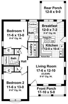 planos-de-casas-con-dos-dormitorios-1.jpg (473×725)