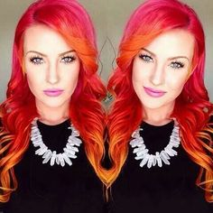 Thinking about doing an ombre with these colors ~ Jenessa Dack