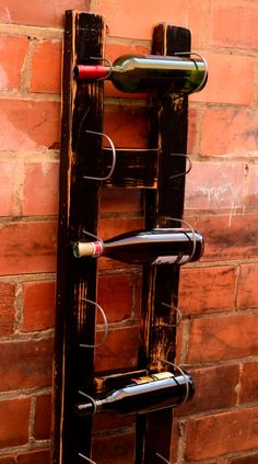Made from an old ladder! Love it!