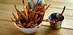 Old Bay {Parsnip} Fries and more vegetable Paleo side dishes recipes on MyNaturalFamily.com #paleo
