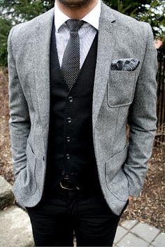 Groom -- brainstorming suit