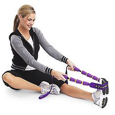 Stretch away tightness with the StretchRite Trainer. Regular stretching of your leg, foot and calf muscles can keep you more flexible and help you avoid injury.