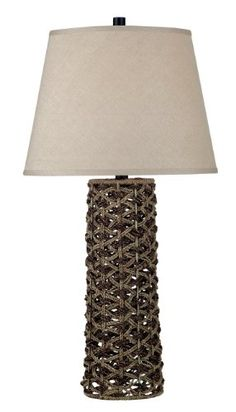 decor, table lamps, natural materials, hous, ropes, jakarta tabl, homes, light, tabl lamp