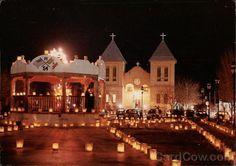 San Albino Church and Mesilla town square, Old Mesilla, NM