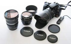 Picking the right lens for your first DSLR camera