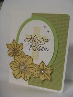 Easter Card - He is Risen