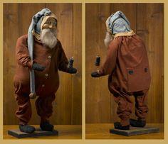 Union Suit Santa