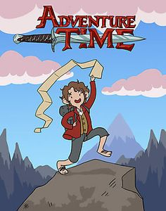 Adventure Time! with Bilbo Baggins :)