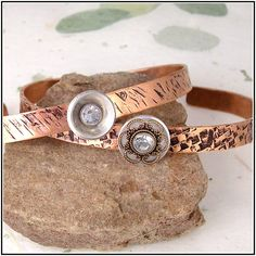 Copper Hand Textured Cuff Bracelets-Choice of Styles from DzignbyJamie on The CraftStar   #jewelry #bracelet #metal #copper #bangle #textured #thecraftstar #shopping