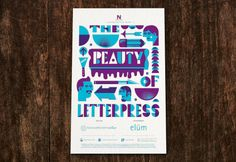 The Beauty of Letterpress Issue 9 out now: by Tad Carpenter