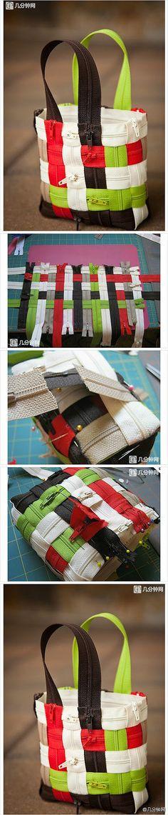 DIY zipbag | have fun with zippers
