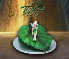 fairies, fairi tinker, cake idea, cakes, bells, cake craft, cake fairi, cake film, tinker bell