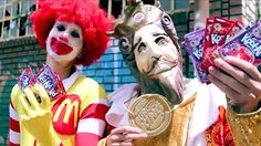 These Kids Rally Against Fast-Food Giants Ruining Their Lives
