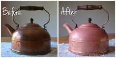 A cheap, simple, DIY way to clean tarnished copper
